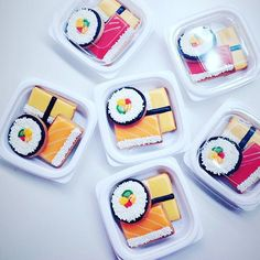 Sushi cookies!   マルシェで販売します♡ ycsweets