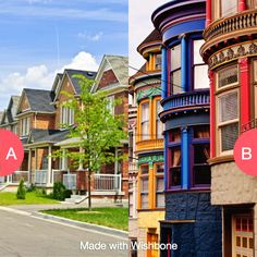 Do you like when houses all look the same or look unique? Click here to vote @ http://getwishboneapp.com/share/8366287