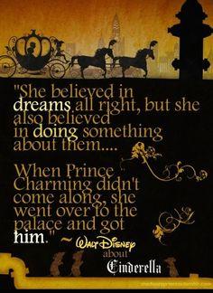 """""""She believed in dreams"""""""
