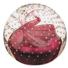 Caithness Glass Caithness Celebration Paperweight Ruby Cauldron. I have this in my collection.