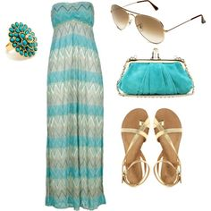 blue, created by kaylee-roskam on Polyvore
