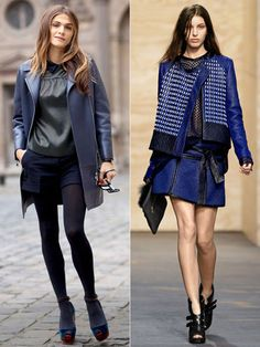 Fabulous at Every Age: Workwear Refresh .......20s: Achieve instant edge with touches of cool blue