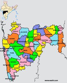 Andhra pradesh map telugu google search maharashtra districts map gumiabroncs Images