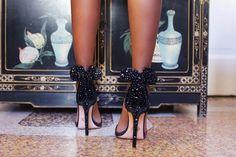 Os escarpins da Minnie da Oscar Tiye