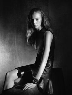 Grace Plowden in Louis Vuitton Resort 2015 for Wonderland Magazine