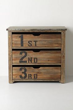 Ordinal Dresser | Anthropologie.eu    estampes bureaux antique