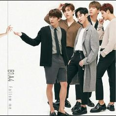 'Follow Me' Japanese single #B1A4