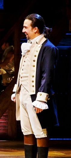 Lin Manuel Miranda as Alexander Hamilton