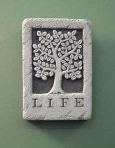 It represents the circle of life in a simple uncomplicated stone. #TreeOfLife #CarruthStudio