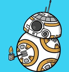 BB8 thumbs up! This was so adorable!