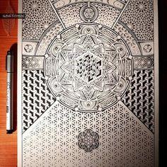 """Realms of the Divine""   by Artwork of Glenn Thomson [ InfiniteApparel.com ] #infinitebit #fortheloveofart"