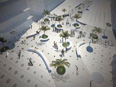 espacio publico-plaza-texturas