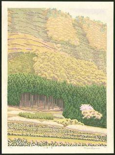 Mihoko Kasamatsu Original 1983 Japanese Woodblock Print | eBay