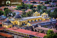 Follow @josevicg: Good morning! La Merced Church #Antigua #Guatemala #ILoveAntigua #AmoAntigua #Travel http://OkAntigua.com