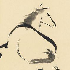 Seiho Takeuchi (1864 - 1942) Running Horse