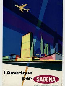 america sabena airliner new york