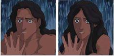 Hmmm...Tarzan as a man is okay!
