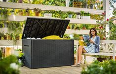 Keter Java XXL 230 Gallon Outdoor Storage Deck Box >>> (paid link) You can get additional details at the image link.