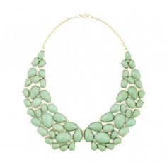 Sole Society Accessories - Peter Pan Stone Necklace