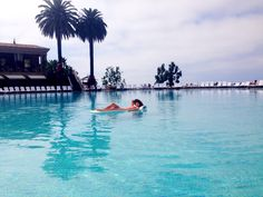 """Thank you for sharing your favorite #pelicanhill #memory with us, Jaynee! """"This photo was taken last October on my birthday. Would love to win this prize so I can relive this amazing moment this year for my upcoming birthday. The Pelican Hill Pool is the best! Birthdays should always look like that. Floating in a giant pool, relaxing."""""""