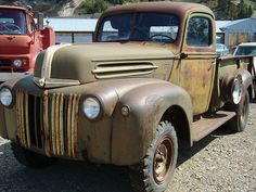 1942-47 Ford 1-Ton Pickup Truck by Custom_Cab, via Flickr