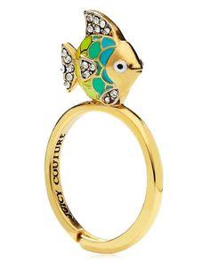 Tropical Fish Mini Wish Ring