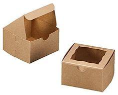 25 Pack - Bakery Box with Window 4x4x2.5 inches Natural B... https://www.amazon.com/dp/B019QFWBHO/ref=cm_sw_r_pi_dp_x_VgYZyb8T6S0Q4