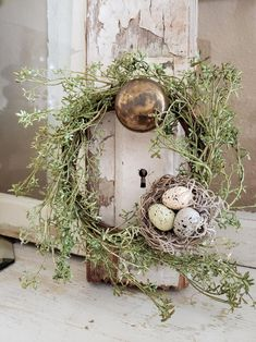 Spring Wreath - Summer Wreath - Spring Decor - Mini Wreath - Wreaths - Farmhouse Decor - Cottage Dec - Lilly is Love Diy Fall Wreath, Summer Wreath, Easter Wreaths, Christmas Wreaths, Mesh Wreaths, Yarn Wreaths, Floral Wreaths, Burlap Wreaths, Etsy Christmas
