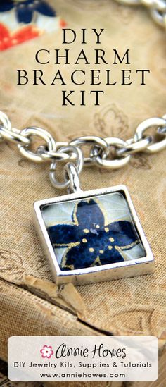 DIY Memory Charm Kit. Easy to make! Affordable to buy. From Annie Howes.