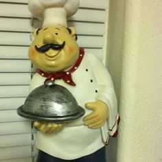 This is from my kitchen ! Muah favorite chef guy ! My kitchen is done in fat chef men !