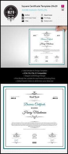 Corporate Certificate Certificate, Certificate design and - Corporate Certificate Template