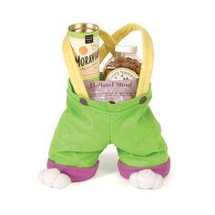 Bunny feet basket