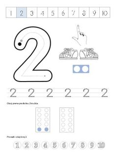 Preschool Numbers Between 1 and 5 Line Worksheet Numbers Preschool, Teaching Math, Math Activities, Preschool Activities, First Grade Math Worksheets, Numicon, Jolly Phonics, Petite Section, Visual Aids