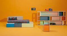 Life box 02. Habitación infantil con cama sistema kubox