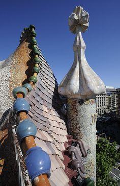 casa Batlló, Gaudi, Barcelona
