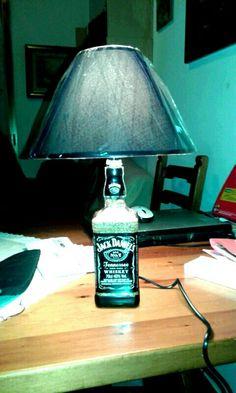 Lampada Jack Daniel's 75cl by Santino Cossu