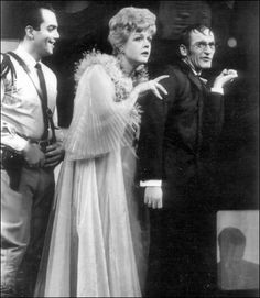 Angela Lansbury returned to the Broadway stage March 6 in Michael Wilson's new revival of Gore Vidal's The Best Man.