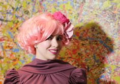 """Or Effie Trinket from """"The Hunger Games""""   Awesome Costumes For Every Hair Color"""