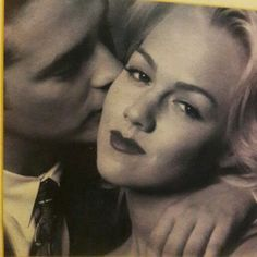 This pic it's so beautiful for not share...  Brandon and kelly 90210