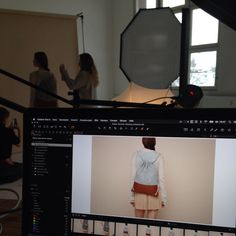 """Behind the scenes at the photoshoot for my book on how to make your own leather bags """"Ledertaschen Selber Nähen"""" Make Your Own, Make It Yourself, How To Make, Modern Sewing Patterns, Diy Kits, Leather Bags, Behind The Scenes, My Books, Photoshoot"""