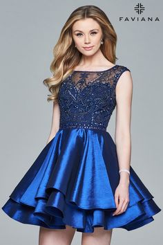 644c95549eac Sweet 16 Dresses · Feel like royalty in Faviana S8069! This hollywood  glamorous dress showcases an ornate beaded and