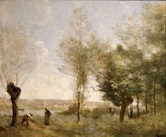 Jean-Baptiste Camille Corot - Souvenir de Coubron (1872), musée des beaux-arts de Budapest, Budapest