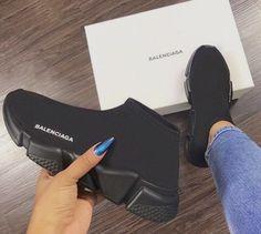 huge discount 1d7f0 8ea9b  TRUUBEAUTYS💧 Accessoires Chaussures, Chaussures Balenciaga, Balenciaga  Femme, Chaussures Et Chaussettes,