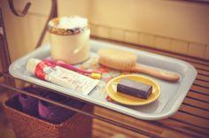 Waldorf home :: Bathroom tray by Bluebirdbaby, via Flickr