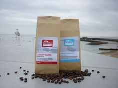 Packaging for The Lyme Bay Coffee Company