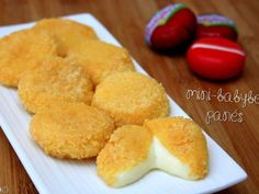 Recipe of Babybel breaded :) Tapas, Cooking Time, Cooking Recipes, Salty Foods, Snacks, Creative Food, Appetizer Recipes, Appetizers, Food Inspiration