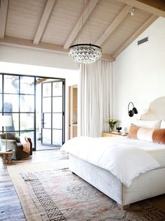 15 Times a Rug Made the Room via @MyDomaine A designer's best trick for rugs: layering a larger, budget-friendlier natural rug underneath a statement rug. This is especially useful when shopping for one-of-a-kind vintage rugs, and will ensure that the size is right even when it isn't.