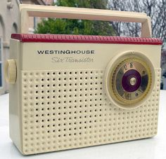 Transistor Radio...Oh, how I loved my first very own transistor radio...loved taking it to the beach and on picnics in the 1950s.