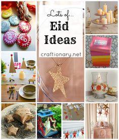 Eid Decorations {Craft ideas} - Craftionary