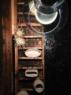 """Orifices""  Ceramic objet by Haruna Morita.  「口々」 森田春菜さんの陶芸。 #ceramics #pottery #japanese_pottery #gallery #Tokyo"